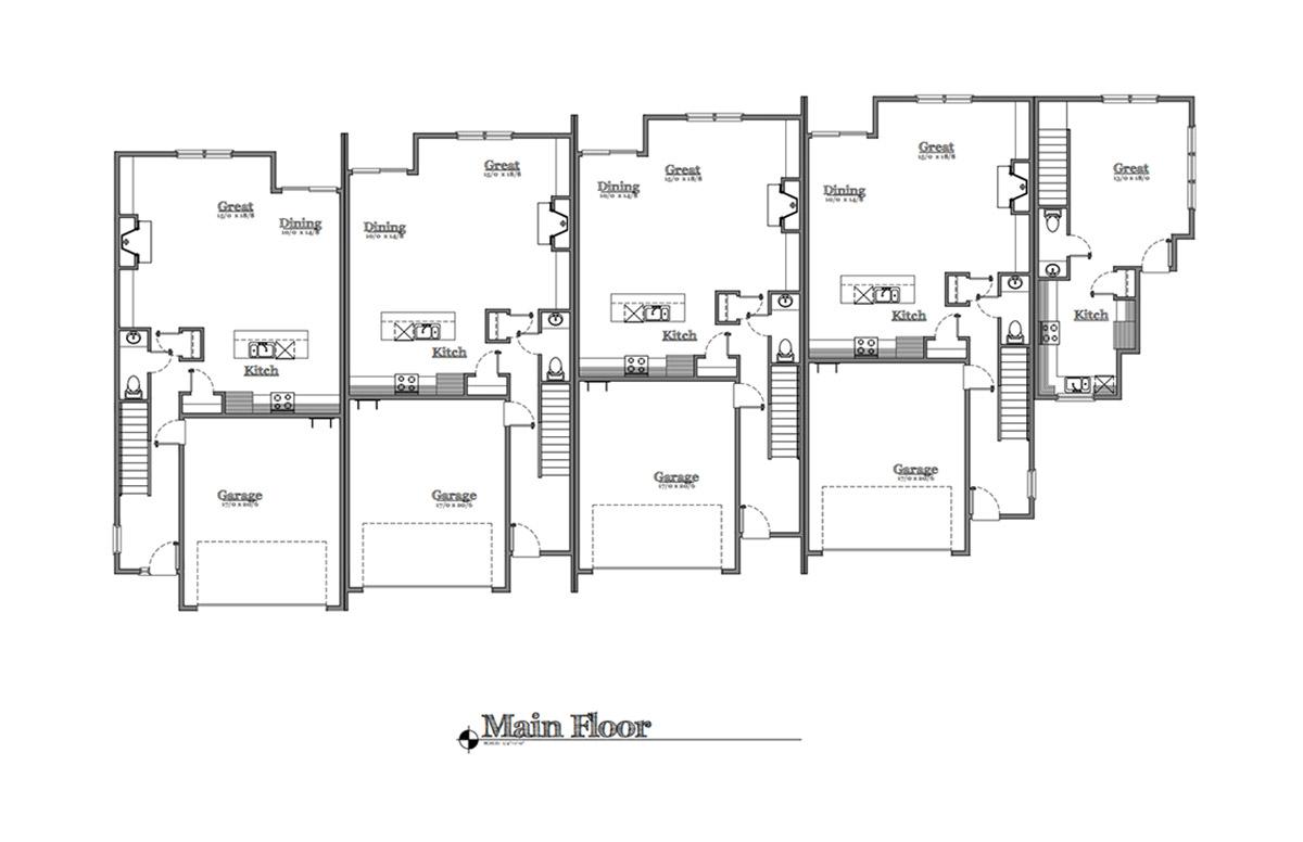 30th & BH floor plans