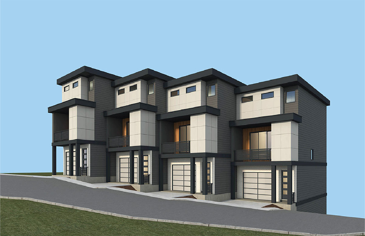 oak and park townhomes